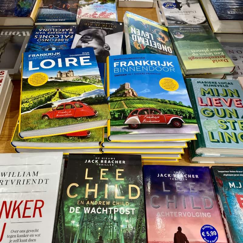 Laat de boeken van Frankrijk Binnendoor zien!